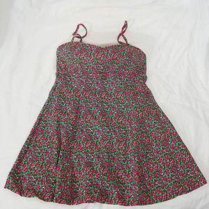 It Figures! Pink Floral Dress Swimsuit 12